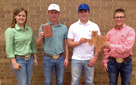 FFA's wool judging team takes sixth at state